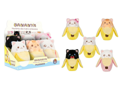 Bananya Plush Box of 6