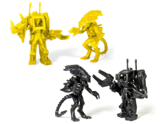 Alien M.U.S.C.L.E. Set of 2 (Yellow & Black) SDCC 2017 Exclusive Two-Packs