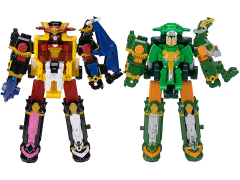 Power Rangers Ninja Steel Deluxe Megazord Set of 2