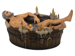 The Witcher 3: Wild Hunt Geralt in Bath Statuette