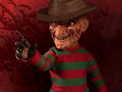 A Nightmare on Elm Street Mezco Designer Series Mega Scale Talking Freddy Krueger