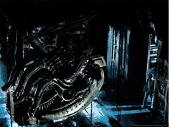 Alien In Space No One Can Hear You Scream Limited Edition Lithograph