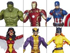 Avengers Marvel Legends Infinite Series Wave 2 Set of 6 (Thanos BAF)