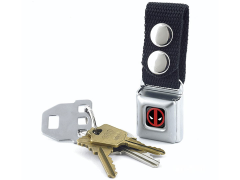 Marvel Deadpool Logo SeatBelt Buckle Keychain
