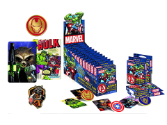 Marvel Universe Collectible Pin & Card Set - Box of 12