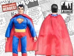 "DC World's Greatest Heroes Series 1 Superman 8"" Retro Figure"