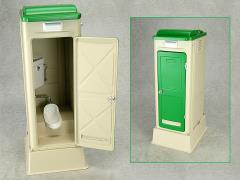 Mabell Original Miniature Model Series 1/12 Scale Portable Toilet (Japanese Style: TU-R1J)