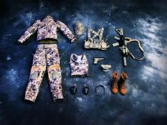 1/6 Scale Female Commando Viper Camo Set