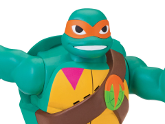 Rise of The TMNT Deluxe Michelangelo Figure