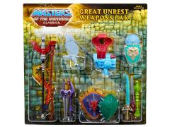 Masters of the Universe Classics Great Unrest Weapons Pak