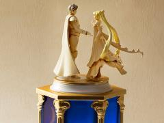 Sailor Moon FiguartsZERO Chouette + Proplica Sailor Moon Tuxedo Mirage Memorial Ornament