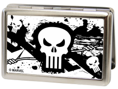 Marvel Punisher Logo (Barbed Wire) Metal ID Wallet