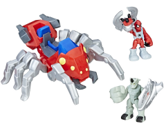 Marvel Super Hero Adventures Deluxe Spider-Man and Spider Bot Adventure Pack