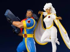 X-Men '92 ArtFX+ Bishop & Storm Statue Two-Pack