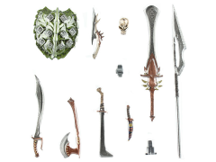 Mythic Legions Advent of Decay Dark Forces Weapons Pack