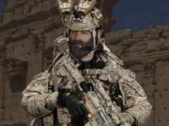 Special Mission Unit Tier-1 Operator Part VI (Camo Color Weapon) 1/6 Scale Deluxe Pack