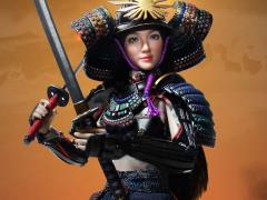 Female Samurai Rin (Black Armor) 1/6 Scale Figure