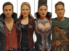 "Once Upon a Time 6"" Action Figure Series 01 PX Previews Exclusive - Set of 4"