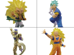 Dragon Ball Super VS Dragon Ball Figure Collection Volume 3 Set of 4