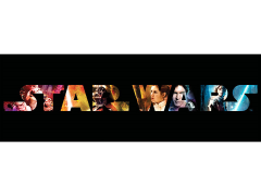 Star Wars Title Star Wars: Characters Canvas Art Print