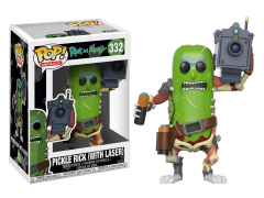 Pop! Animation: Rick and Morty - Pickle Rick (With Laser)