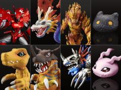 Digimon Digital Monster Capsule Mascot Collection Premium Vol 1.0 Box of 8 Figures