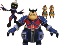 Kingdom Hearts Select Pete, Chip, Dale, & Soldier Heartless