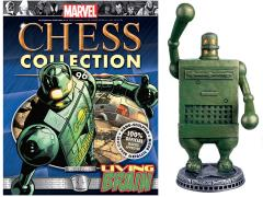 Marvel Chess Figure Collection #96 - Living Brain White Pawn