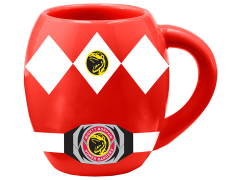 Mighty Morphin Power Rangers Red Ranger Ceramic Oval Mug