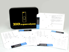 2001: A Space Odyssey HAL 9000 Collectors' Tin with AE-35 Card Limited Edition Set
