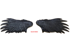 Mythic Legions Advent of Decay Feathered Wings (Black)