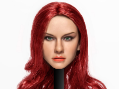 Cat Toys 1/6 Scale Female Head Sculpt (Red Hair)