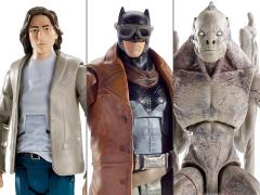 Batman v Superman DC Comics Multiverse Mix 4 Set of 3 Figures (Collect & Connect Grapnel Blaster Replica)