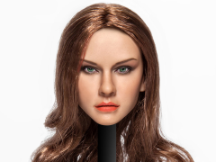 Cat Toys 1/6 Scale Female Head Sculpt (Brown Hair)