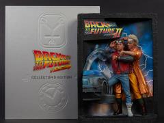 Back to the Future Sculpted Movie Poster and The Ultimate Visual History Collector's Edition