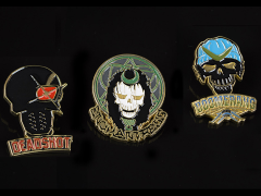Suicide Squad Lapel Pin Set 01