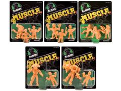 Aliens M.U.S.C.L.E. Two & Three Packs Set of 5
