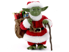 Star Wars Fabriche Santa Yoda Table Piece
