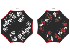 Disney Liquid Reactive Villains & Roses Umbrella