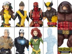 X-Men Marvel Legends Wave 1 Set of 8 Figures (Juggernaut BAF)