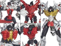 Transformers: Age of Extinction Platinum Edition Dinobots G1 Repaint