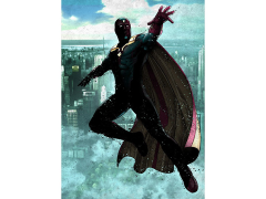Marvel Dark Edition Vision Displate Metal Print