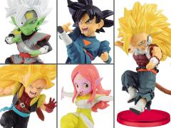Super Dragon Ball Heroes World Collectable Figure Vol. 7 Set of 5 Figures