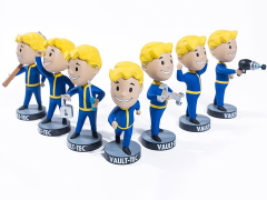 Fallout 76 Vault Boy Bobblehead Wave 1 Set of 7 Figures