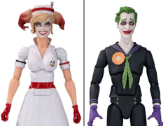 DC Designer Series Harley Quinn (Nurse) & Joker Figures Two-Pack (Ant Lucia)