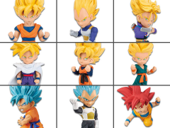 Dragon Ball Z World Collectable Figure Super Saiyans Box of 12 Figures