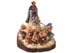 Snow White and the Seven Dwarfs Disney Traditions Carved By Heart (Jim Shore)