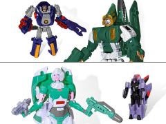 Transformers Subscription Figure 5.0 - Fractyl & Scorponok with Lifeline & Quickslinger