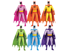 Batman Rainbow Action Figure Six Pack