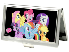 My Little Pony Group Pose Business Card Holder